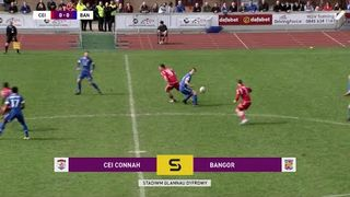 HIGHLIGHTS | Connah's Quay Nomads 1-0 Bangor City (14/04/2018)