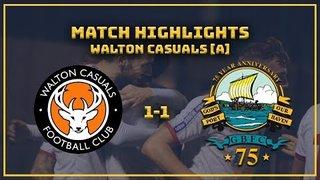 MATCH HIGHLIGHTS: Walton 1-1 GOSPORT