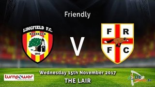 Lingfield FC Res v Farleigh Rovers - Friendly - 15-11-2017