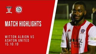MATCH HIGHLIGHTS | Witton Albion 1-0 Ashton United