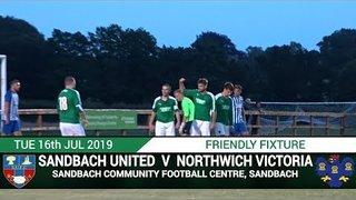 [NVTV][PRESEASON]Sandbach United Vs Northwich Victoria [HIGHLIGHTS]