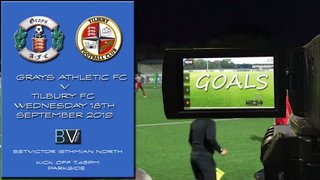 GOALS Grays Ath v Tilbury FC Bet Victor North
