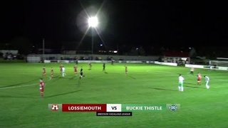 Lossiemouth vs Buckie Thistle | Highlights | Breedon Highland League | 9 October 2019