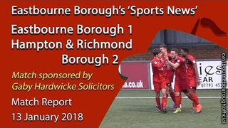 'Sports News': Eastbourne 1 v 2 Hampton & Richmond - Vanarma National League South Highlights