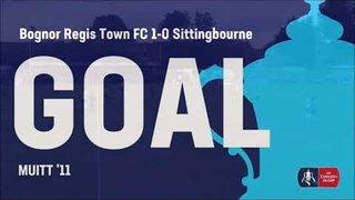Bognor Regis Town FC vs Sittingbourne FC