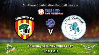 Lingfield FC 6v0 Little Common FC - League - 11-11-2017