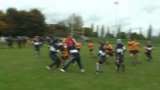 Ipswich Rugby Club's under 12 team