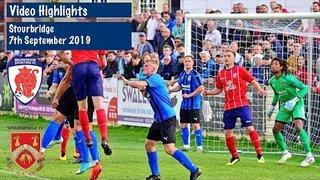HIGHLIGHTS: Bromsgrove Sporting v Stourbridge - 07/09/2019