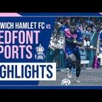HAMLET HIGHLIGHTS | Dulwich Hamlet (0) v (1) Bedfont Sports | Emirates FA Cup | 12/09/2021