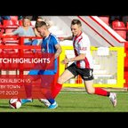 Match Highlights | Witton Albion 0-2 Whitby Town 19/09/20