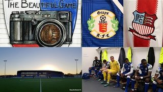 Two Men In Search Of The Beautiful Game - Grays Athletic FC Vs Bowers & Pitsea FC