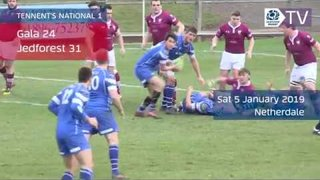 Tennent's Premiership & National League 1 Highlights   Round 14