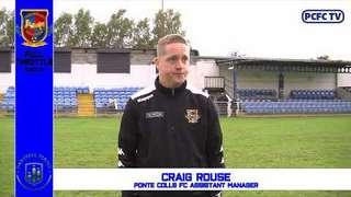 Manager reaction Ponte vs Glossop FA Trophy 12 Oct 2019