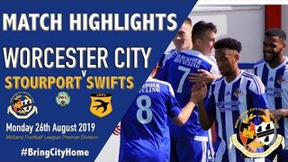 Worcester City 0 v 0 Stourport Swifts 0 - 26th August 2019