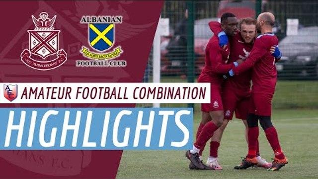 AFC League (Highlights): Old Parmiterians 1st XI v Albanian (Double Header)