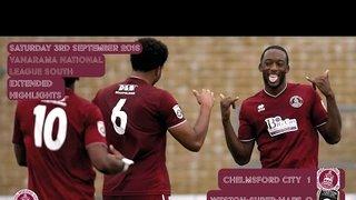 Highlights - Chelmsford City vs Weston-super-Mare