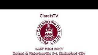 LAST TIME OUT: Havant & Waterlooville 1-1 Chelmsford City - 21/11/2017