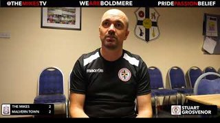 The Mikes TV | The Mikes 2-2 Malvern Town | Post Match Interview