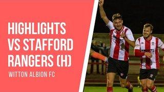 GOALS | Witton Albion 1-1 Stafford Rangers