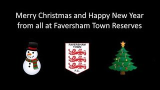 Faversham Town Reserves - Christmas Video - Dec 2018
