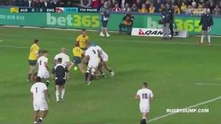 England Vs Australia - record breaking 3rd test - 2016 Rugby