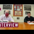 Louis Dunne's first interview after joining the Clarets