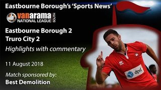 'Sports News': Eastbourne Borough 2 v 2 Truro City - Vanarama National League South Highlights