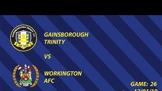 Match Action | Gainsborough Trinity vs Workington AFC | 12/01/19
