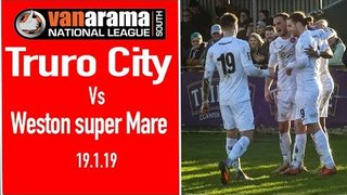 Truro City v Weston super Mare 19/1/19