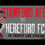 Stamford AFC vs Hereford FC FA Trophy Round 4