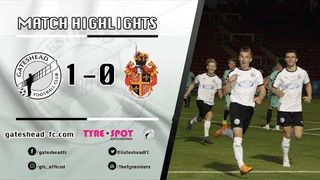 HIGHLIGHTS: Gateshead 1-0 Spennymoor Town (03/09/19)