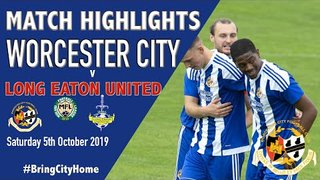 Worcester City 1 Long Eaton United 3 - 5th October 2019
