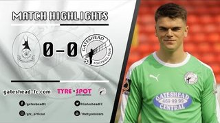 HIGHLIGHTS: AFC Telford United 0-0 Gateshead