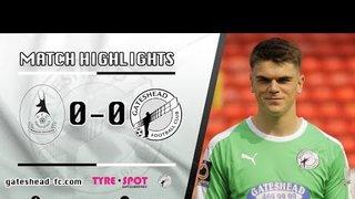 HIGHLIGHTS: AFC Telford United 0-0 Gateshead