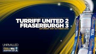 Turriff United 2-3 Fraserburgh | William Hill Scottish Cup 2015/16 - Second Round