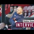 Robbie Simpson post Ipswich Town XI (H)
