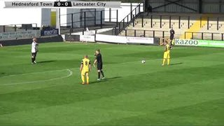 Hednesford Town 1 - 1 Lancaster City | Highlights | 26-08-17