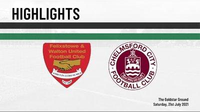 Highlights | Felixstowe & Walton Utd (A) - Friendly
