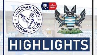 Thatcham Town FC vs Salisbury FC | FA Cup Highlights