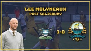 SALISBURY [A]| Salisbury 1-0 GOSPORT: Manager interview.