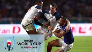 Rugby World Cup 2019: USA vs. France | EXTENDED HIGHLIGHTS | 10/02/19 | NBC Sports