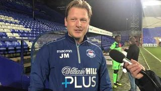POST MATCH INTERVIEW - Tranmere Rovers 3-3 Oxford City