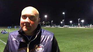 PREVIEW - Mark Jones ahead of Dartford (FA Cup)