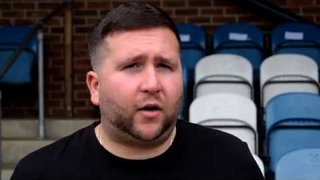 Thatcham Town FC vs Yate Town FC - Danny Robinson Interview