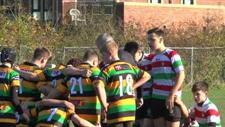 2017 29th October Stockport U14s vs Littleborough - Part 1