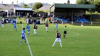 Whitehill Welfare v Penicuik - Scottish Cup Match Highlights