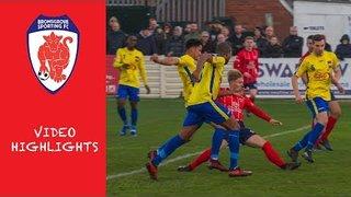 HIGHLIGHTS: Bromsgrove Sporting v Aylesbury - 17/11/2018