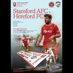 Stamford AFC vs Hereford FC(Home FA Trophy)