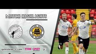 HIGHLIGHTS: Gateshead 3-0 Boston United (14/09/19)