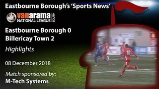 'Sports News': Eastbourne Borough 0 v 2 Billericay Town – Vanarama National League South